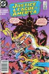 Cover Thumbnail for Justice League of America (1960 series) #252 [Newsstand]