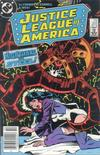 Cover Thumbnail for Justice League of America (1960 series) #255 [Newsstand]