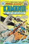 Cover for Kamandi, The Last Boy on Earth (DC, 1972 series) #25