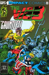 Cover Thumbnail for The Web (DC, 1991 series) #12 [Direct]