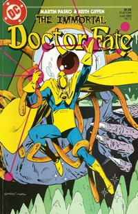 Cover Thumbnail for The Immortal Doctor Fate (DC, 1985 series) #3