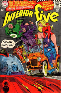 Cover Thumbnail for The Inferior Five (DC, 1967 series) #1