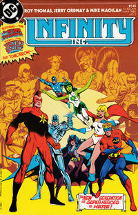 Cover Thumbnail for Infinity, Inc. (DC, 1984 series) #1