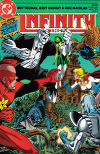 Cover Thumbnail for Infinity, Inc. (DC, 1984 series) #3