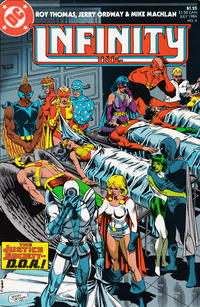Cover Thumbnail for Infinity, Inc. (DC, 1984 series) #4