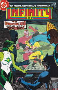 Cover Thumbnail for Infinity, Inc. (DC, 1984 series) #8