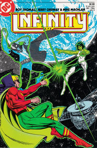 Cover Thumbnail for Infinity, Inc. (DC, 1984 series) #9