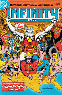 Cover Thumbnail for Infinity, Inc. (DC, 1984 series) #10