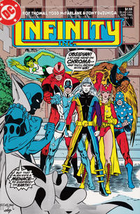 Cover Thumbnail for Infinity, Inc. (DC, 1984 series) #15