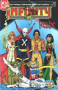 Cover Thumbnail for Infinity, Inc. (DC, 1984 series) #17