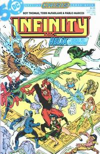 Cover Thumbnail for Infinity, Inc. (DC, 1984 series) #18