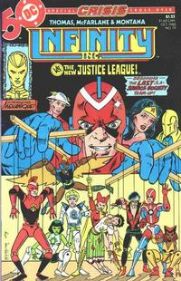 Cover Thumbnail for Infinity, Inc. (DC, 1984 series) #19