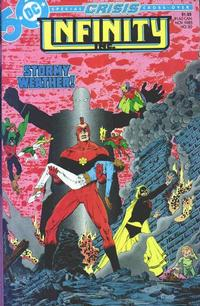 Cover Thumbnail for Infinity, Inc. (DC, 1984 series) #20