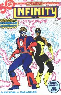 Cover Thumbnail for Infinity, Inc. (DC, 1984 series) #21