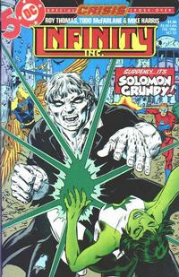 Cover Thumbnail for Infinity, Inc. (DC, 1984 series) #23