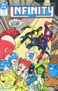 Cover Thumbnail for Infinity, Inc. (DC, 1984 series) #25