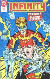 Cover Thumbnail for Infinity, Inc. (DC, 1984 series) #27