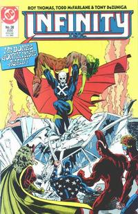 Cover Thumbnail for Infinity, Inc. (DC, 1984 series) #28