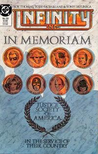 Cover Thumbnail for Infinity, Inc. (DC, 1984 series) #30