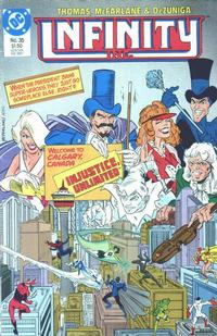 Cover Thumbnail for Infinity, Inc. (DC, 1984 series) #35
