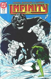 Cover Thumbnail for Infinity, Inc. (DC, 1984 series) #36