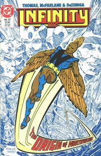 Cover Thumbnail for Infinity, Inc. (DC, 1984 series) #37
