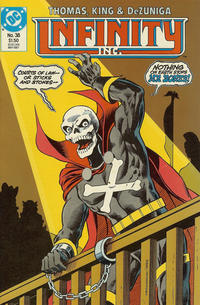 Cover Thumbnail for Infinity, Inc. (DC, 1984 series) #38