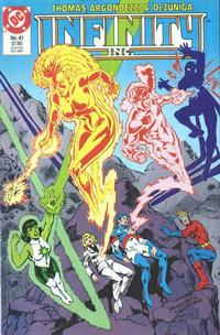 Cover Thumbnail for Infinity, Inc. (DC, 1984 series) #41