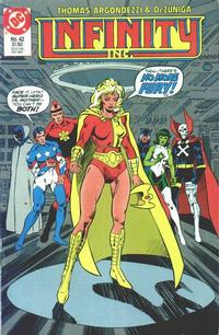 Cover Thumbnail for Infinity, Inc. (DC, 1984 series) #42