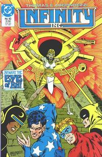 Cover Thumbnail for Infinity, Inc. (DC, 1984 series) #43