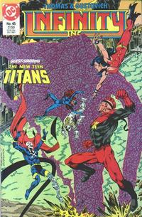 Cover Thumbnail for Infinity, Inc. (DC, 1984 series) #45