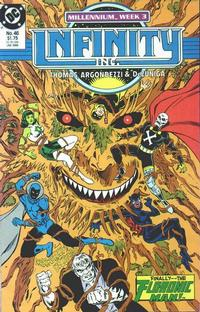 Cover Thumbnail for Infinity, Inc. (DC, 1984 series) #46