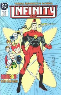 Cover Thumbnail for Infinity, Inc. (DC, 1984 series) #48