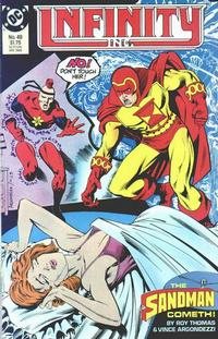 Cover Thumbnail for Infinity, Inc. (DC, 1984 series) #49
