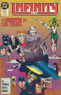 Cover Thumbnail for Infinity, Inc. (DC, 1984 series) #51