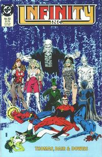 Cover Thumbnail for Infinity, Inc. (DC, 1984 series) #53