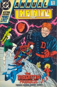 Cover Thumbnail for Infinity Inc. Annual (DC, 1985 series) #2