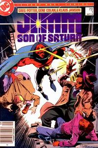 Cover Thumbnail for Jemm, Son of Saturn (DC, 1984 series) #1 [Newsstand]
