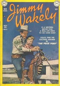 Cover Thumbnail for Jimmy Wakely (DC, 1949 series) #2