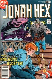 Cover Thumbnail for Jonah Hex (DC, 1977 series) #13