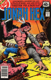 Cover Thumbnail for Jonah Hex (DC, 1977 series) #22