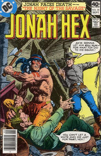 Cover Thumbnail for Jonah Hex (DC, 1977 series) #28