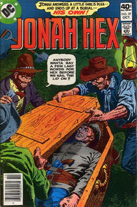 Cover Thumbnail for Jonah Hex (DC, 1977 series) #29