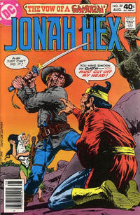 Cover Thumbnail for Jonah Hex (DC, 1977 series) #39