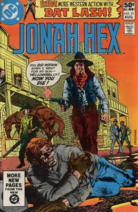 Cover Thumbnail for Jonah Hex (DC, 1977 series) #51 [Direct Sales]