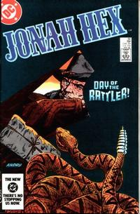 Cover Thumbnail for Jonah Hex (DC, 1977 series) #80 [Direct]