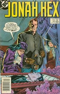 Cover Thumbnail for Jonah Hex (DC, 1977 series) #90 [Newsstand]