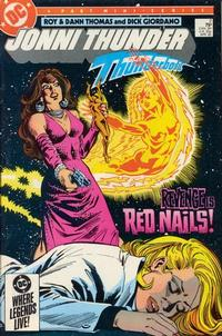 Cover Thumbnail for Jonni Thunder (DC, 1985 series) #2 [Direct]