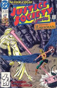 Cover Thumbnail for Justice Society of America (DC, 1991 series) #4 [Direct]