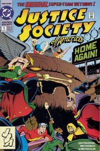 Cover Thumbnail for Justice Society of America (DC, 1992 series) #1 [Direct]
